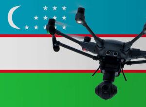 Drohne fliegen in Usbekistan