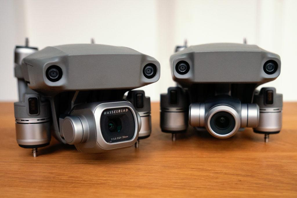 Die Kameras der DJI Mavic 2 Pro und der DJI Mavic 2 Zoom